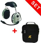 David Clark Headset H 10-13.4 mit SL-Headsettasche